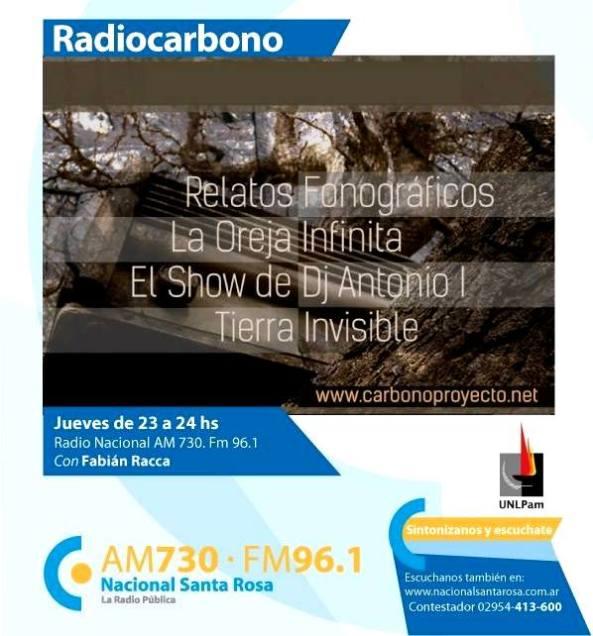 Radiocarbono en Radio  Nacional